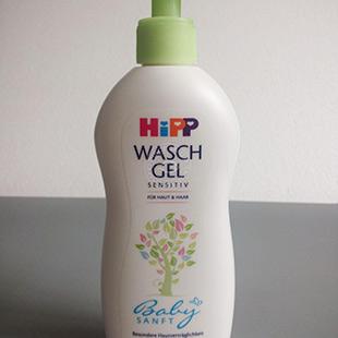 德國喜寶Hipp洗護二合一 有機杏仁油嬰兒無淚洗發沐浴露400ml