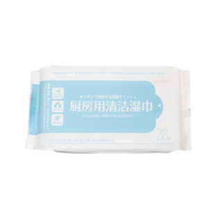FaSoLa廚房清潔櫥柜餐具去油污濕巾紙 消毒用具清潔衛生濕紙巾20枚