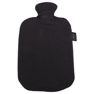 費許(FASHY)德國原裝進口PVC材質絨布外套熱水袋2.0L灰色