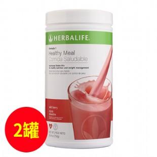 康寶萊(Herbalife) 蛋白混合飲料 草莓味【原裝進口版】750g【兩件套】