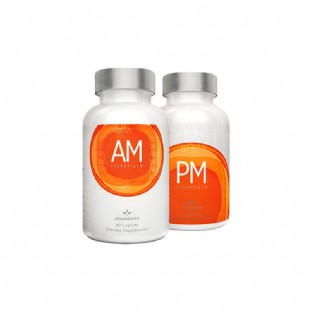 美商婕斯(Jeunesse)DNA基因修護早晚系列AM PM 60粒/瓶 *2瓶(AM,PM各1瓶)美國版