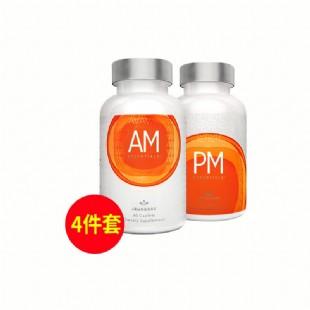 美商婕斯(Jeunesse)DNA基因修護早晚系列AM PM 60粒/瓶 *2瓶 【買3送1】