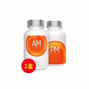 美商婕斯(Jeunesse)DNA基因修護早晚系列AM PM 60片/瓶*2瓶 美國版【兩件套】