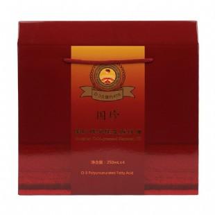 国珍(Guozhen)冷榨亚麻籽油250ml×4瓶