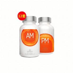 美商婕斯(Jeunesse)DNA基因修護早晚系列AM PM 60粒/瓶 *2瓶【買8組送4組】