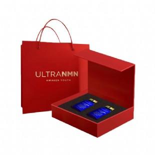 ULTRA_NMN(ULTRA_NMN)進口煙酰胺單核苷酸NMN9600NAD+補充劑升級款60粒【春節禮盒2瓶裝】