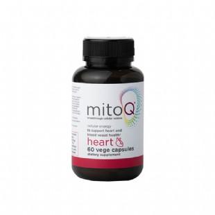 美透(MitoQ)舒心膠囊60粒輔酶Q10延緩衰老保護心臟左旋肉堿維D