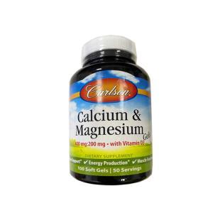康一生(Carlson) Labs cal-600mg液体钙软胶囊100粒