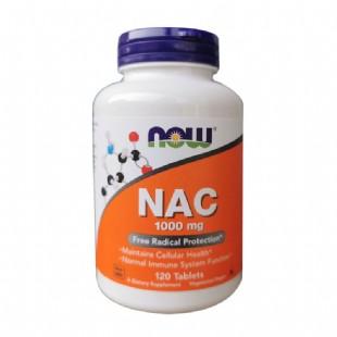 諾奧(Now_Foods)NAC半胱氨酸片1000mg120片
