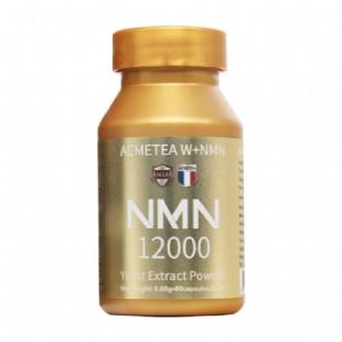 法國W+NMN acmetea12000NMN煙酰胺單核苷酸膠囊0.6g*80粒瓶*3瓶