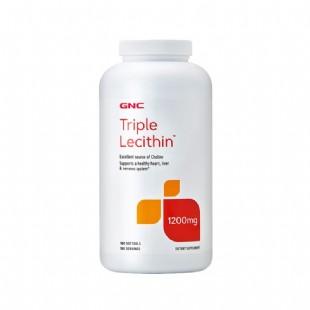 健安喜(GNC)三重卵磷脂胶囊180粒/瓶