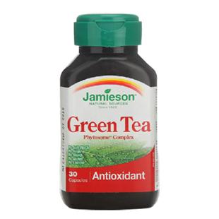 健美生(Jamieson)绿茶提取物和磷脂复合物浓缩胶囊【加拿大进口版】261毫克×30粒