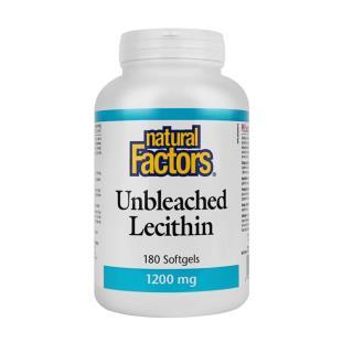 然自自然(Natural_Factors)大豆卵磷脂软胶囊 【美国版】1200mg*180粒