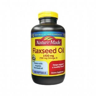 美国莱萃美(Nature_Made)有机亚麻籽油1400mg*300粒