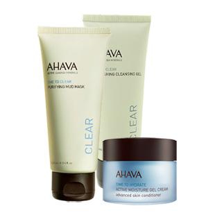 以色列Ahava(Ahava)调理去除黑头粉刺护肤套装