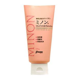 日本Minon(Minon)9種氨基酸保濕潔面膏洗面奶【日本原裝進口版】100g