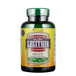 维他命世界(Vitamin_World)三重卵磷脂100粒