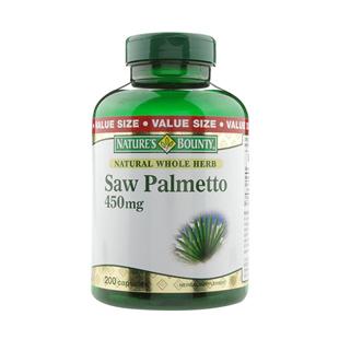 自然之寶(Naturesbounty)鋸棕櫚復合提取物軟膠囊450mg*200粒