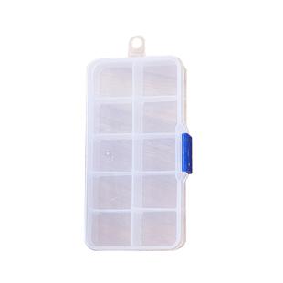 可拆格透明便攜藥盒10格(收納盒 )