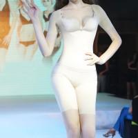 佩緹尚魅(PETAL_CHAUMET)私人定制能量體雕半袖連體塑身衣膚色 2XL