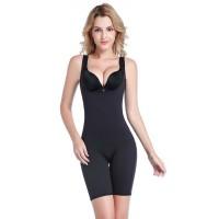 佩缇尚魅(PETAL_CHAUMET)远红外磁石恒温保健无袖连体塑身衣黑色 XL