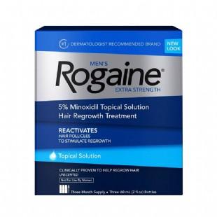 落健(Rogaine)男士防脱再生液60ml*3瓶【美国原装进口版】