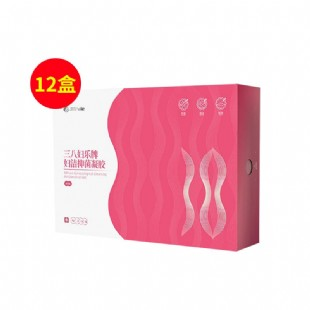 三八妇乐(38fule)妇洁抑菌凝胶排毒抗炎12盒巩固装