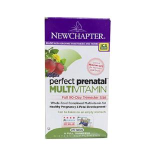 新章(New_Chapter)完美孕宝孕妇综合营养素【美国版】270片