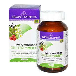新章(New_Chapter)女性每日一片维生素【美国版】72片