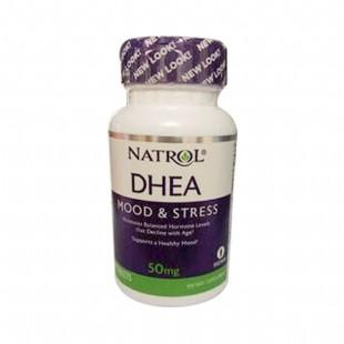 美国Natrol(Natrol)DHEA脱氢表雄酮 青春素【美国版】50mg*60粒