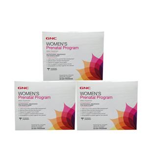 健安喜(GNC)孕妇综合营养包30天配方3盒体验装