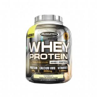 肌肉科技(MUSCLETECH)白金乳清蛋白粉5磅 香草味