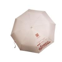 中国美容美体网高端定制时尚黑胶防紫外线晴雨伞