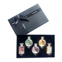 香奈儿(Chanel)限量版经典Q版7.5ml*5瓶香水礼盒
