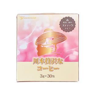 日本川本美瘦减肥咖啡功效