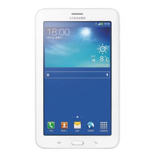三星(SAMSUNG)GALAXY Tab3 Lite T111 7寸平板电脑(双核1.2GHz 8GB 白色 3G通话)