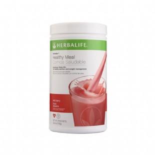 康宝莱(Herbalife)蛋白混合饮料 草莓味【原装进口版】750g